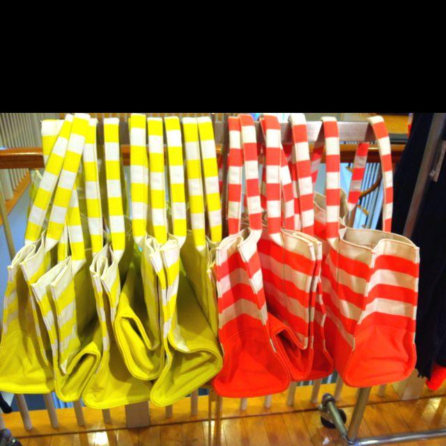 J. Crew beach bags!