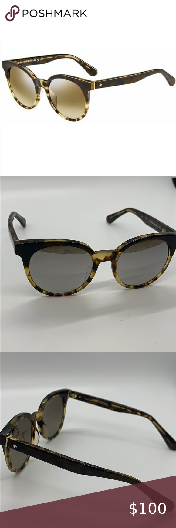 Kate Spade NWOT Abianne Sunglasses nwot  comes with box accepting all reasonable…