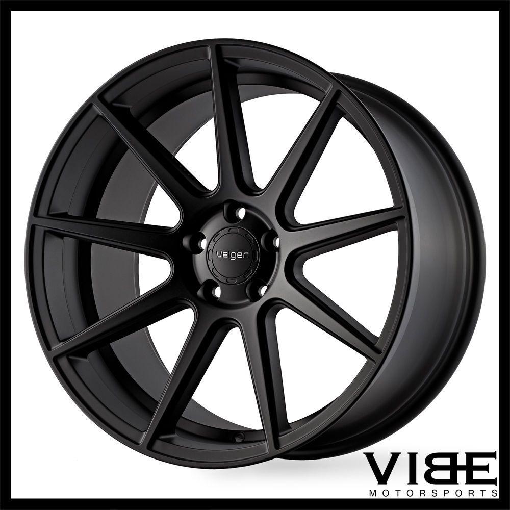 Velgen Vmb Black Concave Wheels Rims Fits Pontiac G Gt - Black acura rims
