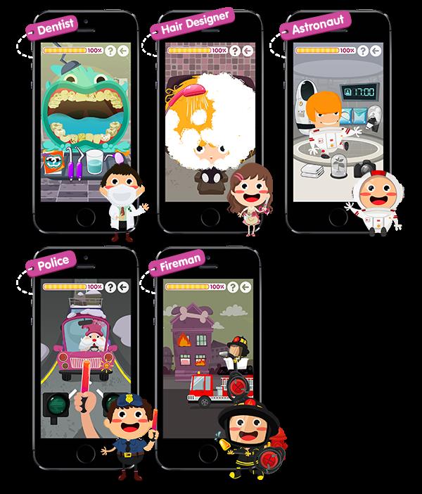 'Good job kids' iOS/Android app on App Design Served
