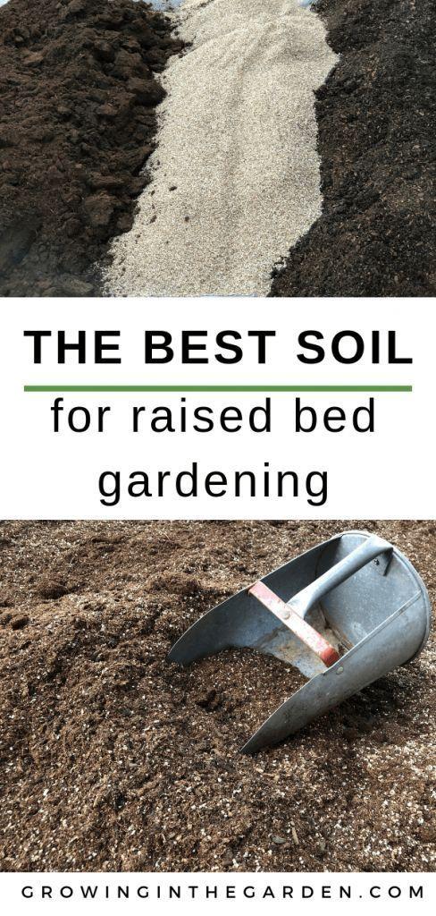Der beste Boden für den Anbau von Gemüse im Hochbeet #anbauvongemüse