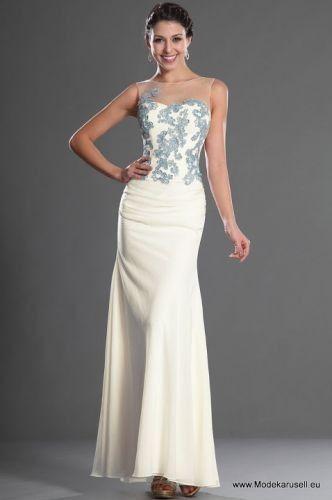Ivory Mode günstig Abendkleid in Beige | Langes abendkleid ...