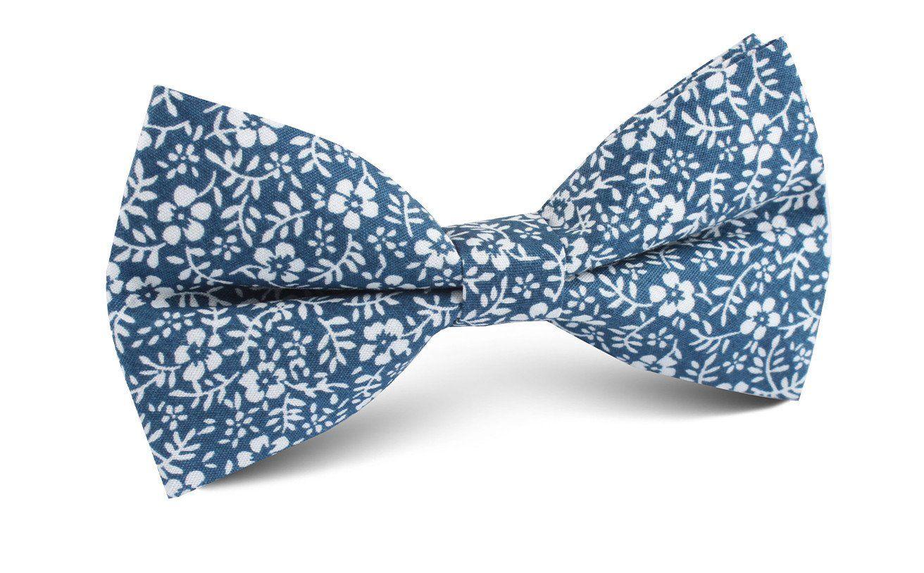 4207599824e8 White Orchid Floral Bow Tie | Men's Tuxedo Suit Bow Ties Pre Tied for Men