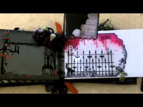 Halloween Mini With On The Edge Dies Part 2 - YouTube