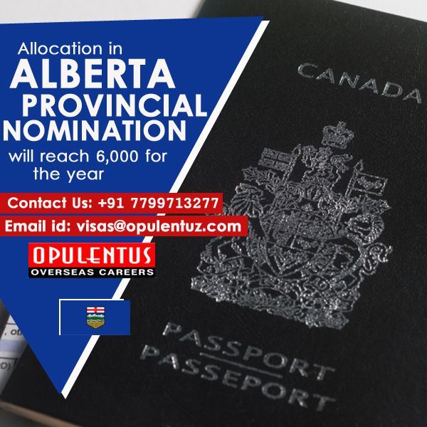 The Immigration Authorities Of Alberta Received An