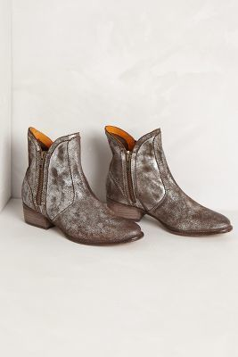 Seychelles Lucky Penny Booties Pewter