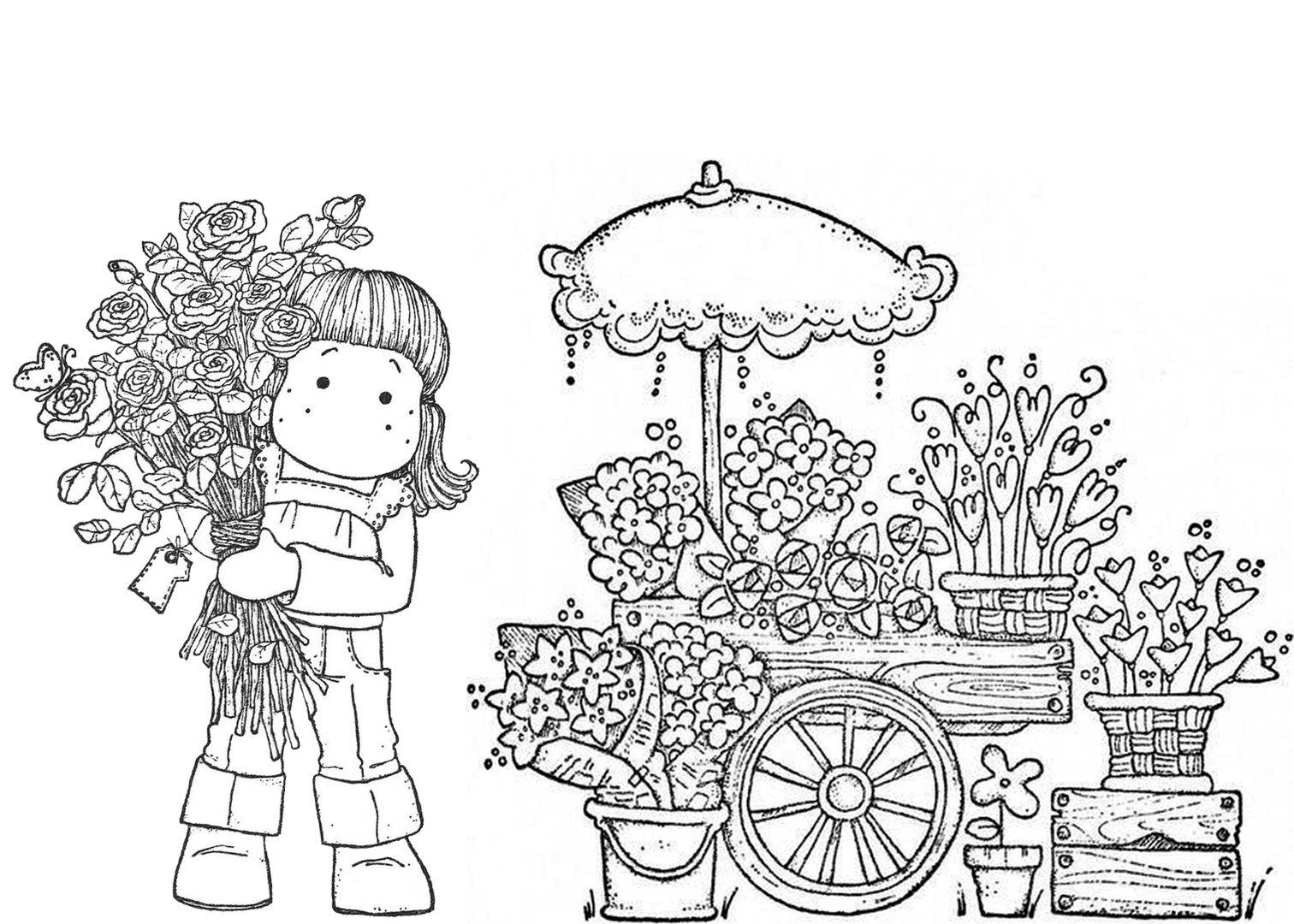 Pin Van Isabel Cristina Trivelato Op Magnolias Digi Stempels Stempelen