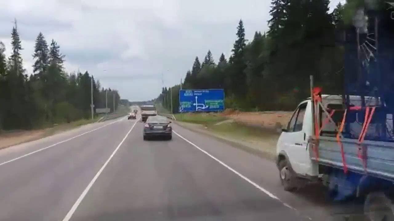 Stau - #video - russische Bundesstraßen - Reise in Moskau #news