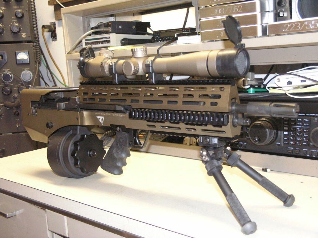 Juggernaut Tactical Rogue M1a Machine Gun Guns