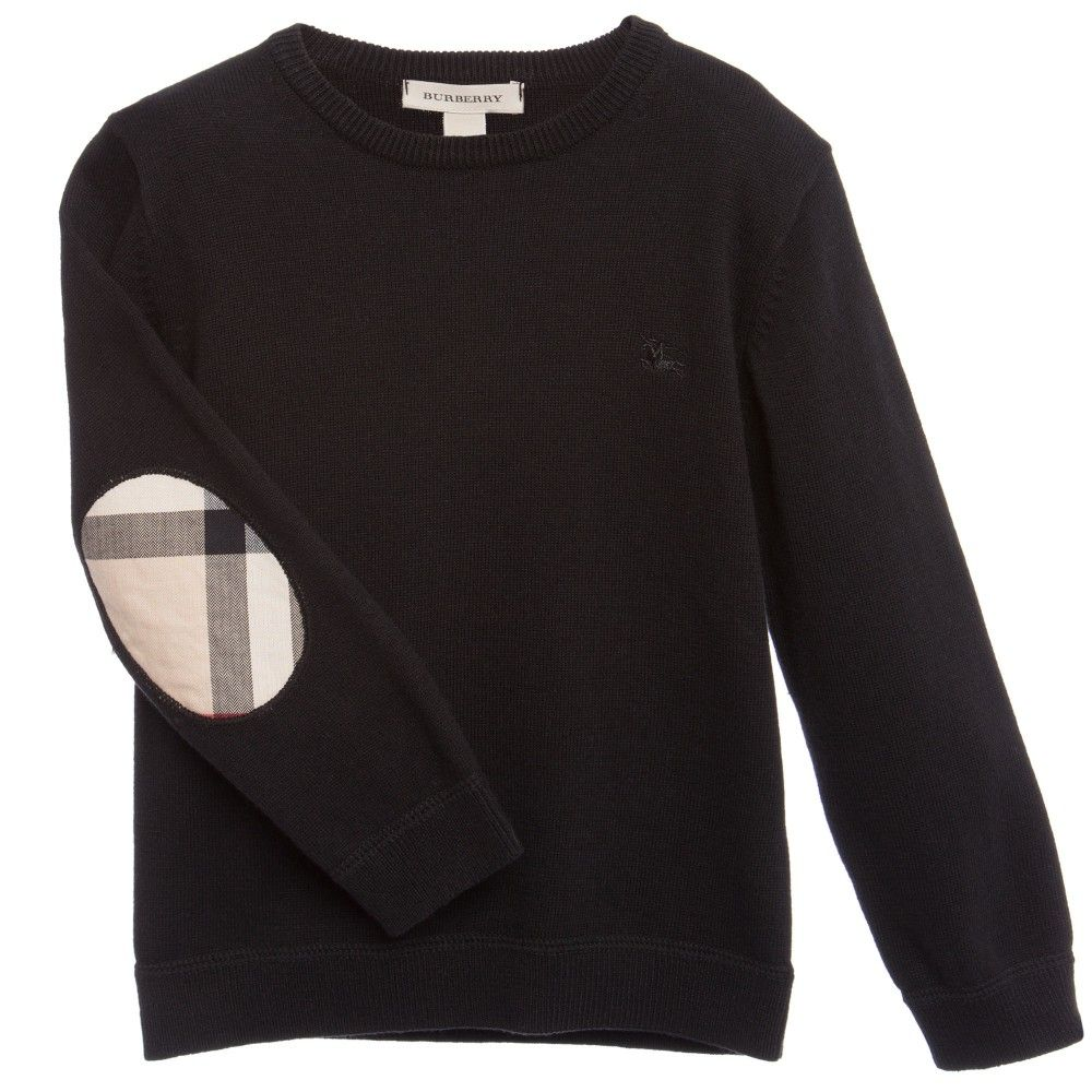 0f4065d7 Burberry Long Sleeve T Shirt Elbow Patch