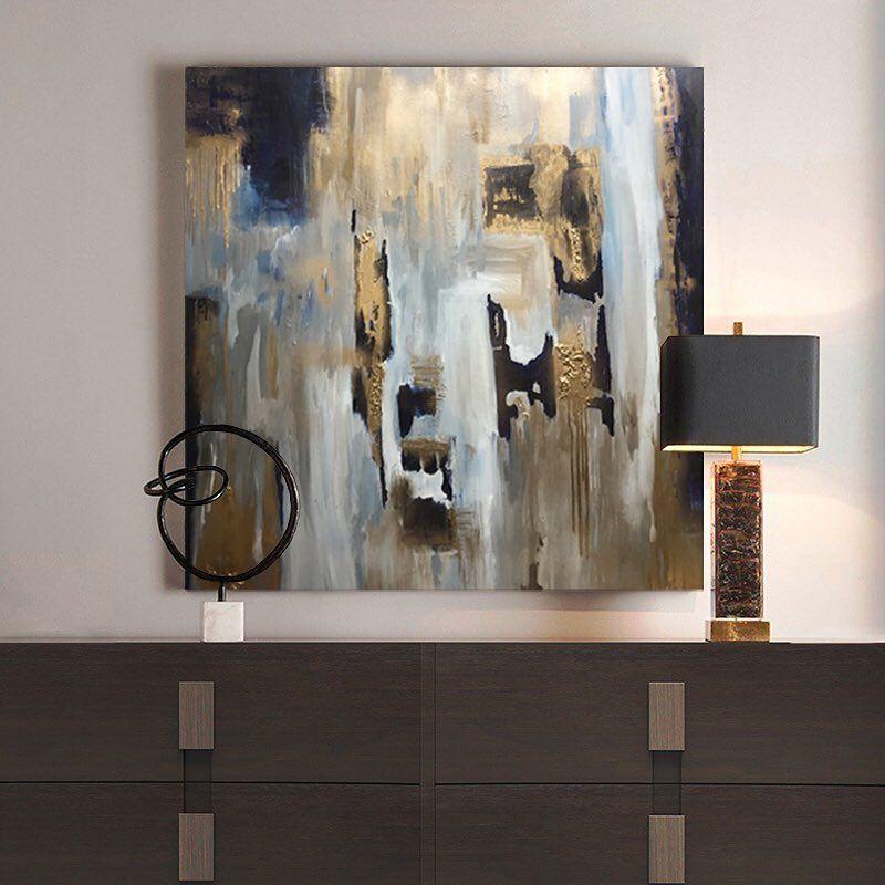 Luxury Abstract Art By Rajan Seth Artist Evocative Design Interior Design Art Art Abstract