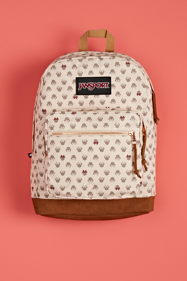 e6ef0772bc6 Introducing the first ever collaboration between Disney and JanSport. Shop  the Disney Luxe Minnie Right Pack backpack at select retailers and jansport .com