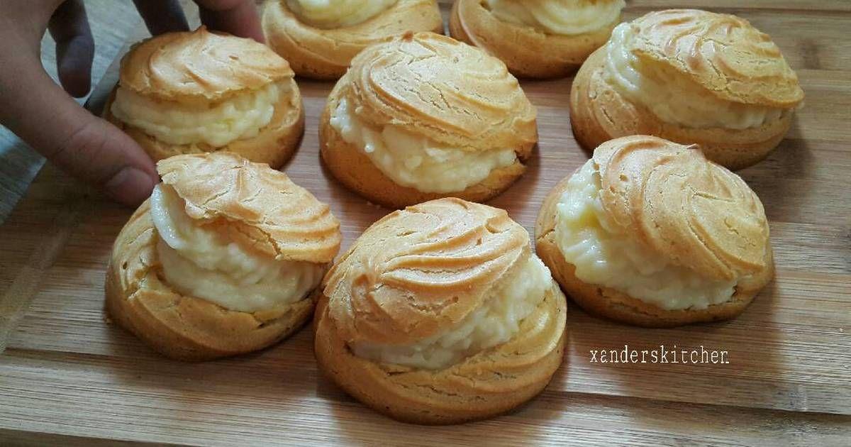 Resep Cream Puff Oleh Xander S Kitchen Resep Makanan Dan Minuman Makanan Resep