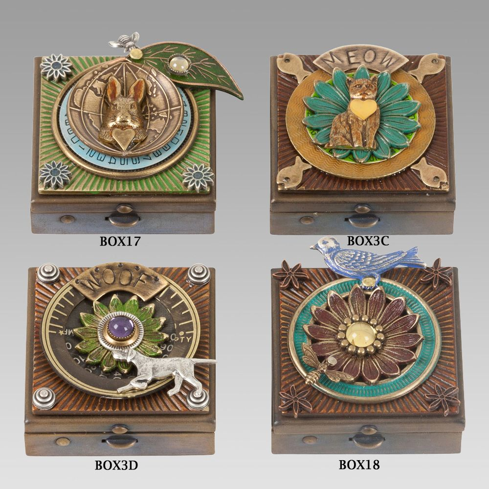 Wish Boxes by Mullanium Jewelry Accessories Each box is hand