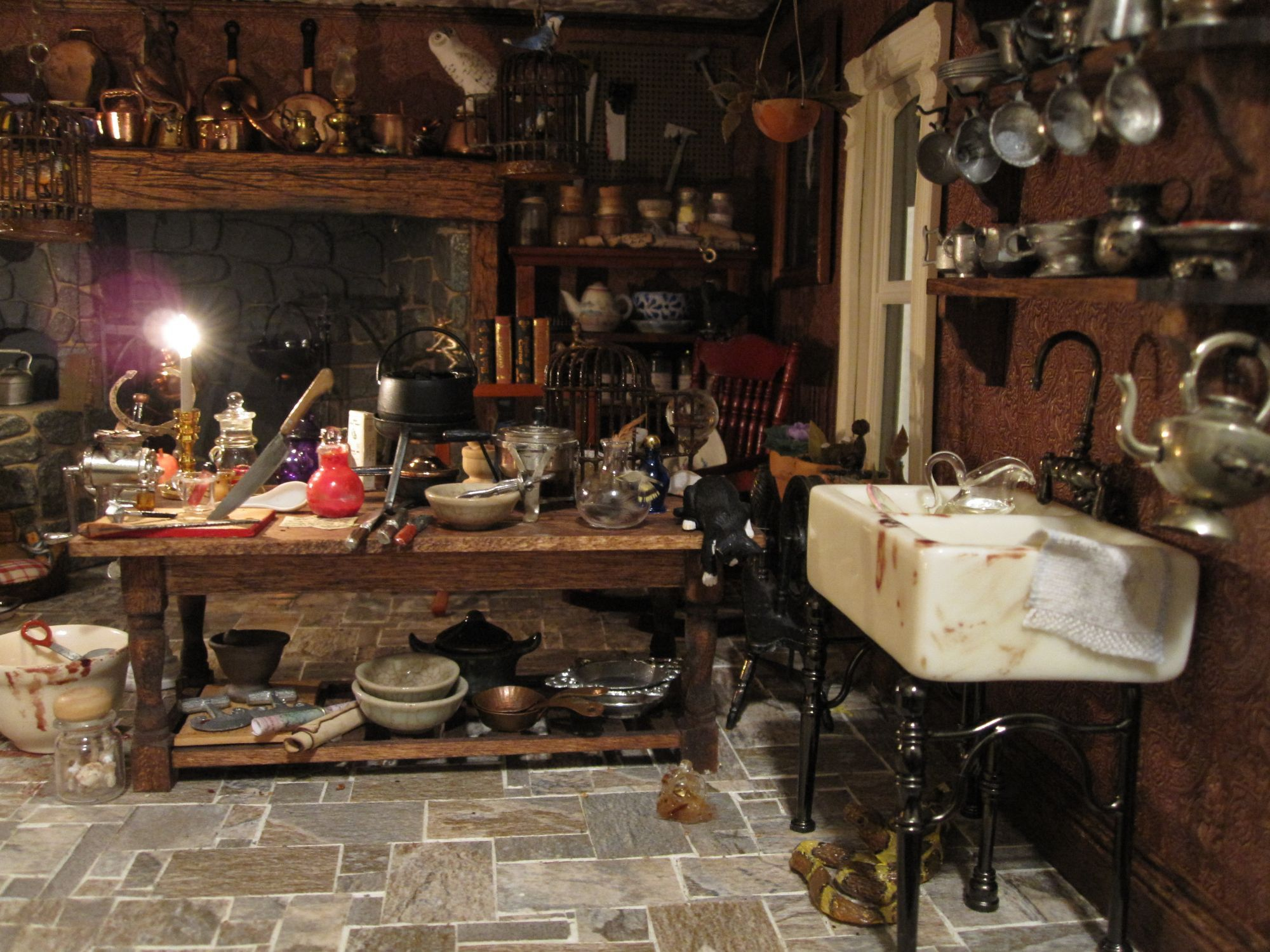 Witch kitchen by Gayle Palama | Wicca | Pinterest | Hexen