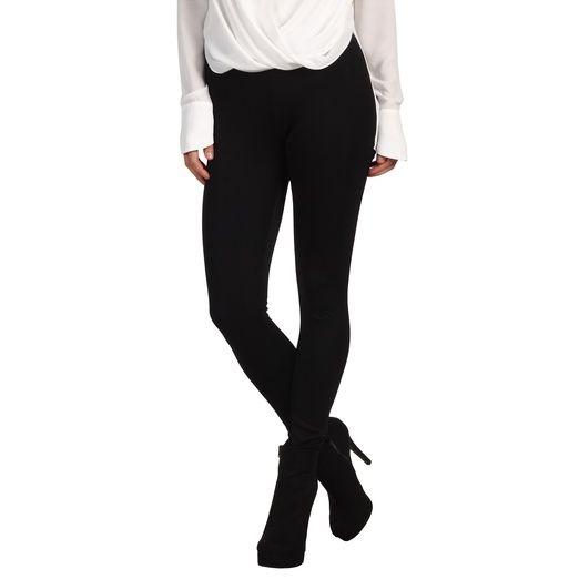 Rank & Style Top Ten Lists   BCBGMAXAZRIA Stretch Ponte Leggings #basic #black #leggings #comfort  #style #fashion #topten #BCBG