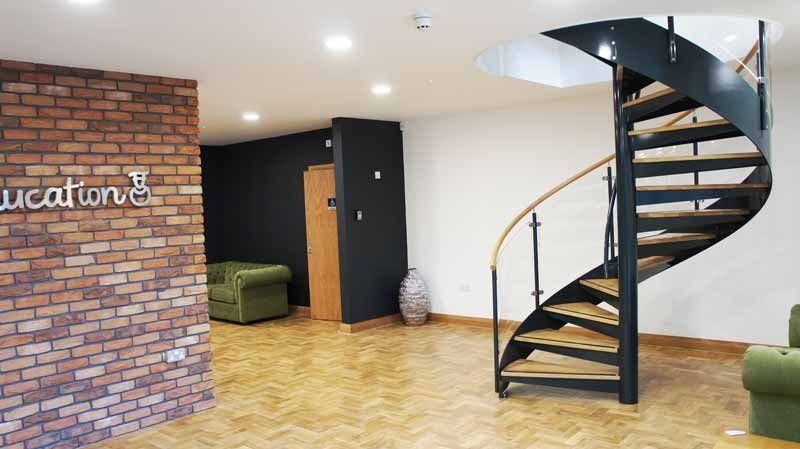 Best Pin By Complete Stair Systems On Commercial Spiral 400 x 300