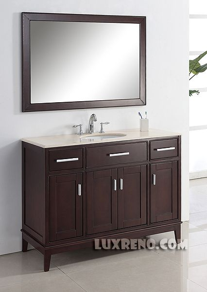 "BSV002E - 48"" Bathroom Vanity Vancouver 