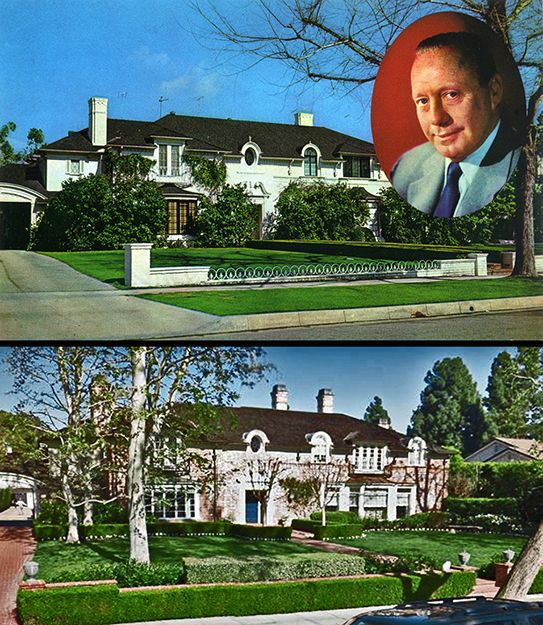 Jack Benny Photos Quotes Celebrity Houses Jack Benny Mansions