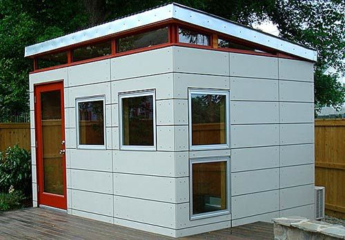 9 Sources for midcentury modern sheds prefab DIY kits and