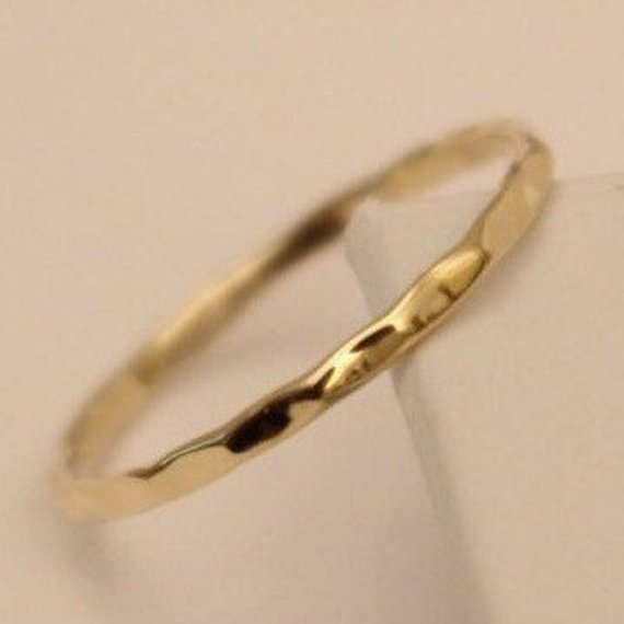 10k Wedding Ring 10k Gold Ring 10k Band Ring 10k Thumb Etsy In 2020 Gold Rings 10k Gold Ring Skinny Rings