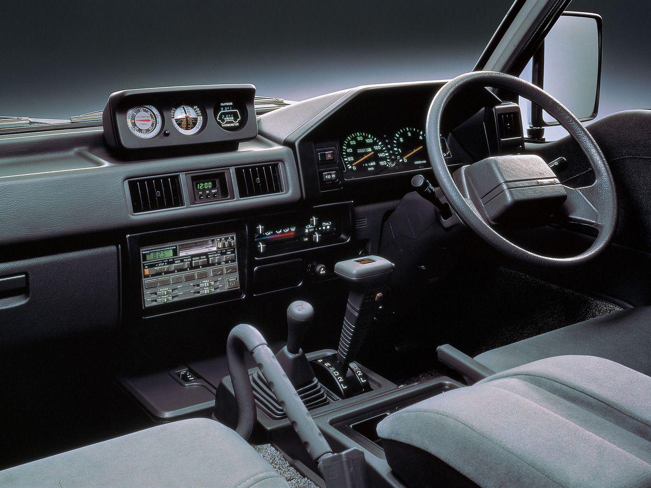 Car Interiors 1990 Mitsubishi Delica Star Wagon 4wd Mitsubishi Cars Mitsubishi Shogun Mitsubishi