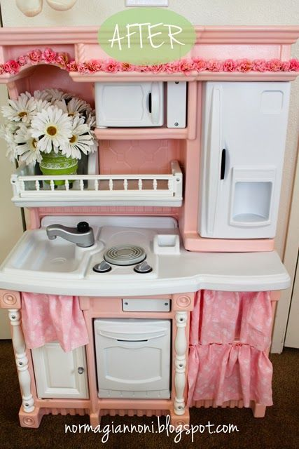 Macdonald's Playland : DIY: Toy Kitchen Makeover (+$25