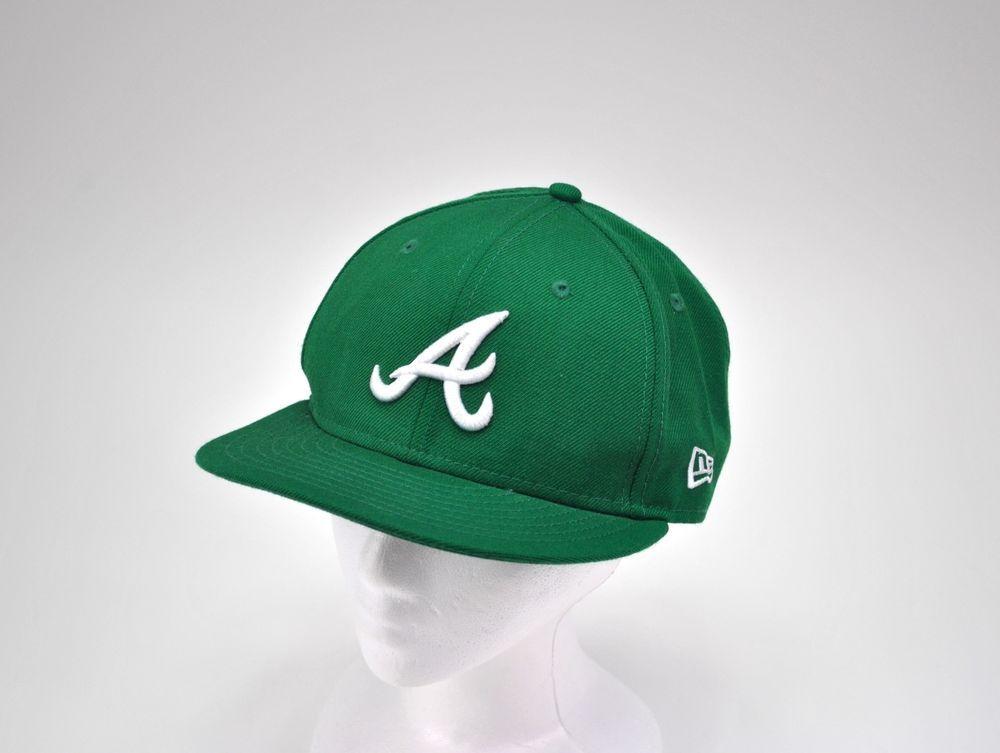 Atlanta Braves Mlb 59fifty New Era Green St Patricks Day Wool Cap Hat Size 7 1 4 Newera Atlantabraves Atlanta Braves