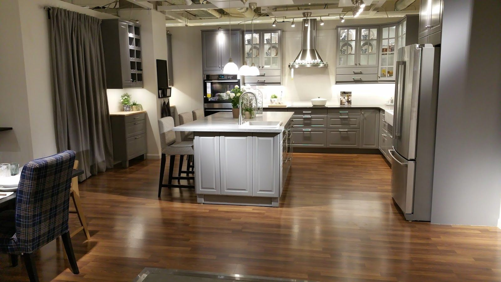 Best Bodbyn Grey Kitchen Google Search Ikea Kitchen Bodbyn 640 x 480