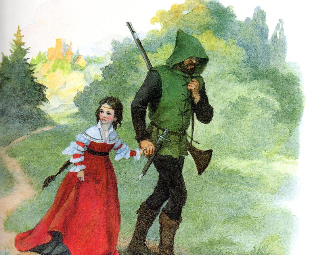 Картинки сказки братьев гримм белоснежка