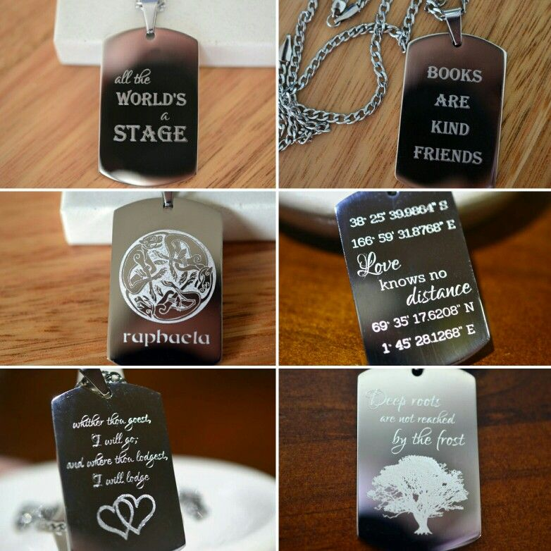 Here Youll Find Custom Engraved Stainless Steel Dog Tags Whether Youre Looking For A Personalized Anniversary Or Graduation Gift Or Youre After A