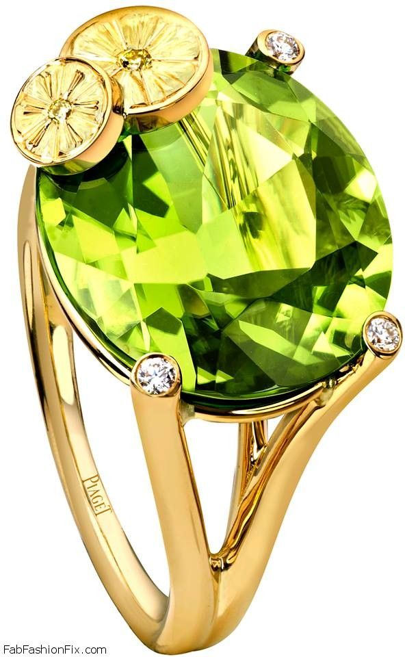 "Piaget ""Cocktails"" jewelry collection is part of Cocktail jewelry, Peridot jewelry, Luxury jewelry, Turquoise jewelry, Jewelry, Jewelry collection - Luxury jewelry brand Piaget brings their new jewelry collection called  Cocktails , which was inspired by the most famous cocktails  Discover white gold, pink,"