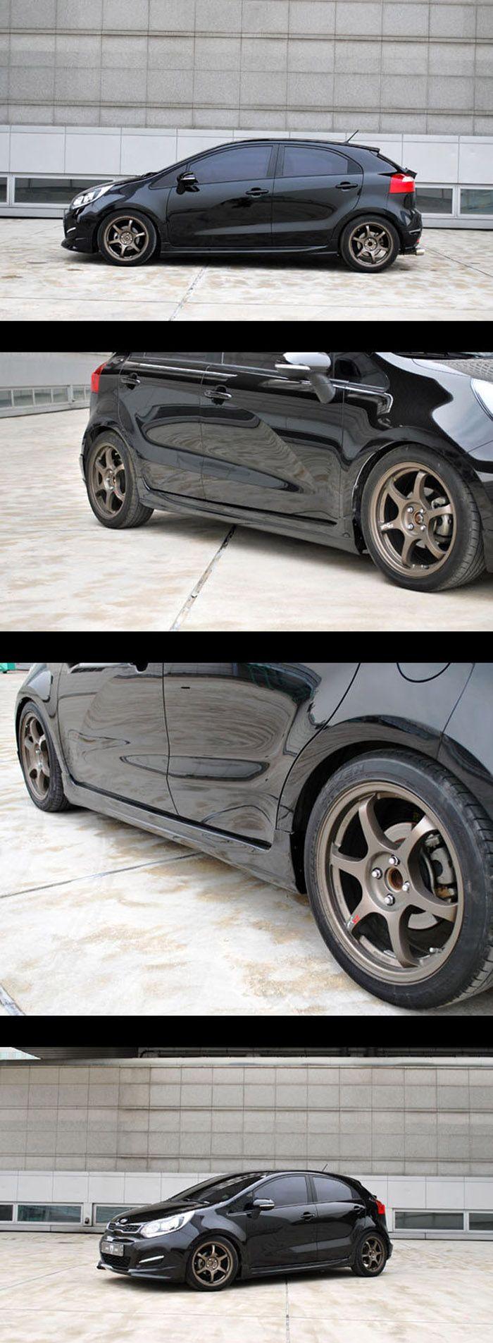kia rio with body kit google search kia rio kia ds automobiles pinterest