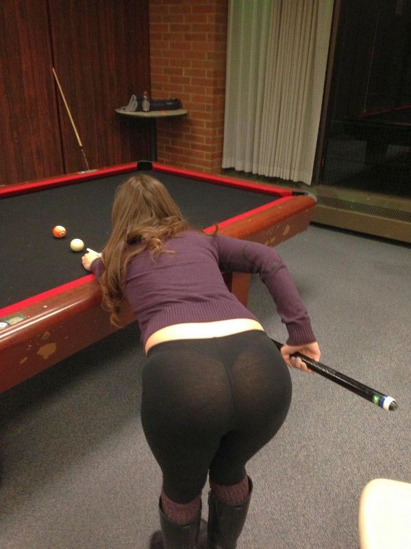 girls bent over in pools