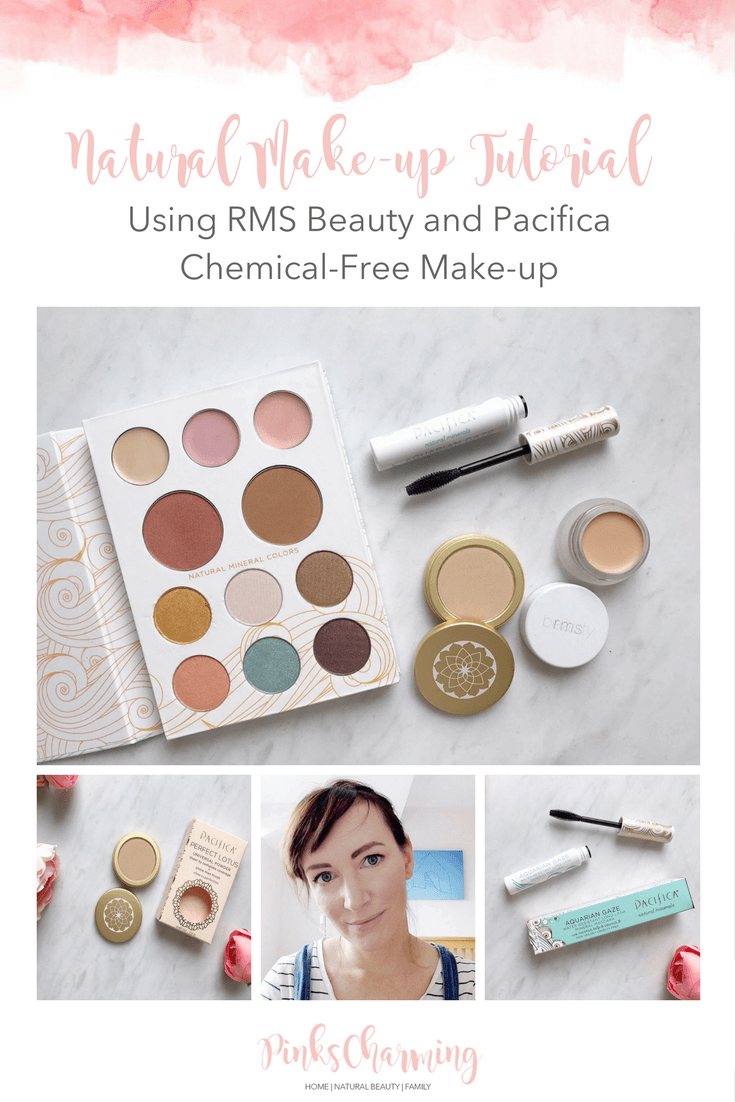 Natural Makeup Tutorial Using RMS Beauty and Pacifica