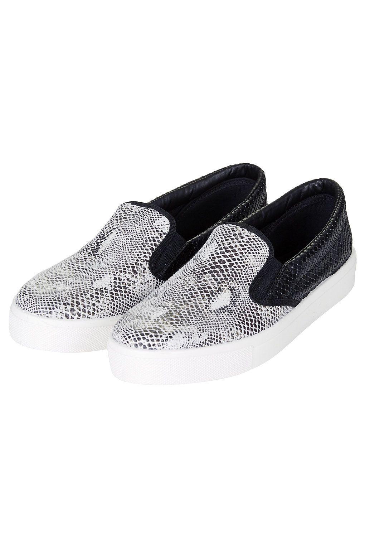 Skate shoes types - Snake Skater Shoes Topshop