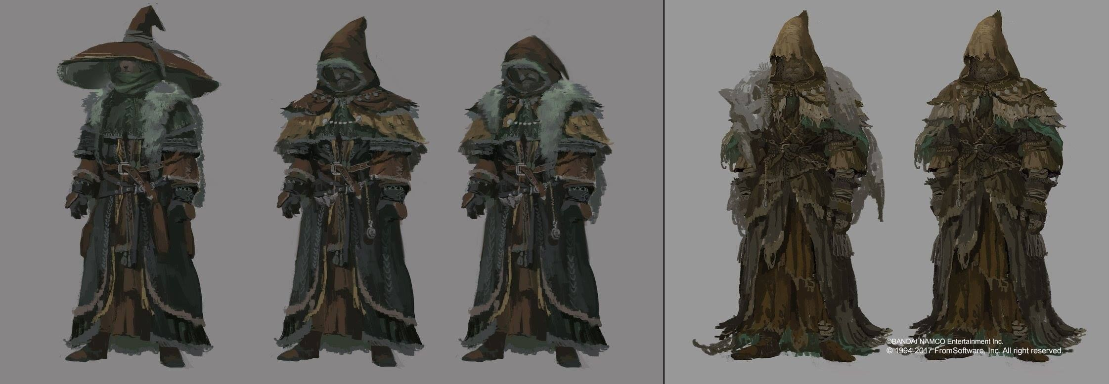 Michael Chang Dark Souls 2 Concept art! 哈!事隔幾年了才擺上網!...