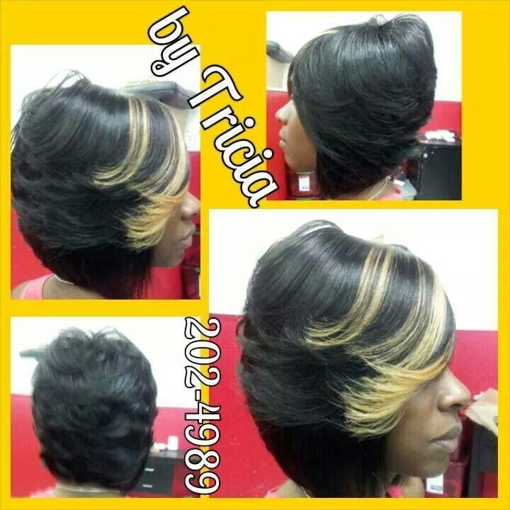 Quick weave bob | Braids for short hair, Oblong face hairstyles, Bob hair dos