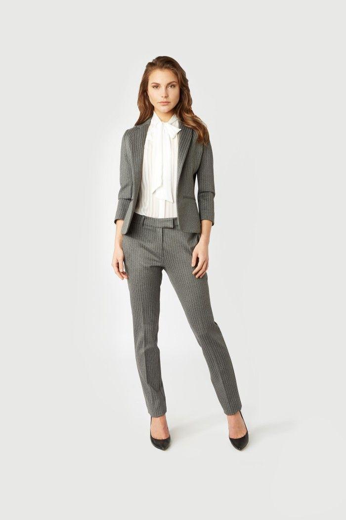 Geliefde Liv Blazer Grijs | zakelijke kleding dames in 2019 | Zakelijke @XF82
