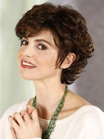 Short Curly Hairstyles For Round Faces Adorable Short Haircuts For Curly Hair Round Face  Possessing A Hairstyle