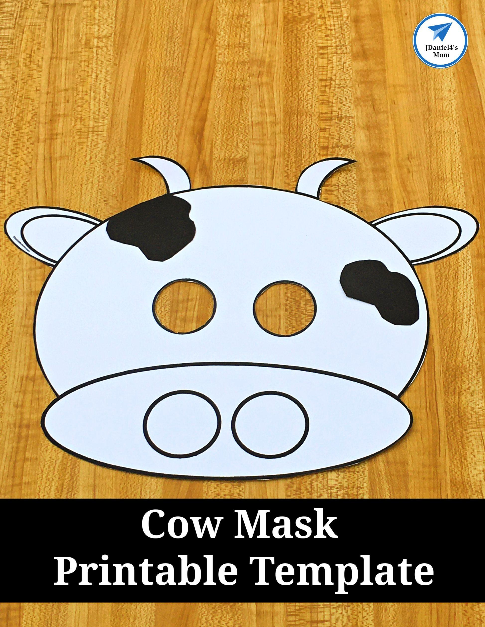 Cow Mask Printable Template Jdaniel4s Mom Cowmask Cowtemplate Farm Jdanielsmom Cowcraft Cow Mask Preschool Crafts Cow Craft [ 2515 x 1947 Pixel ]