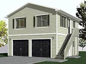 1632-1 - 35′-2″ x 24′   Garage plans, Garage plans with ...