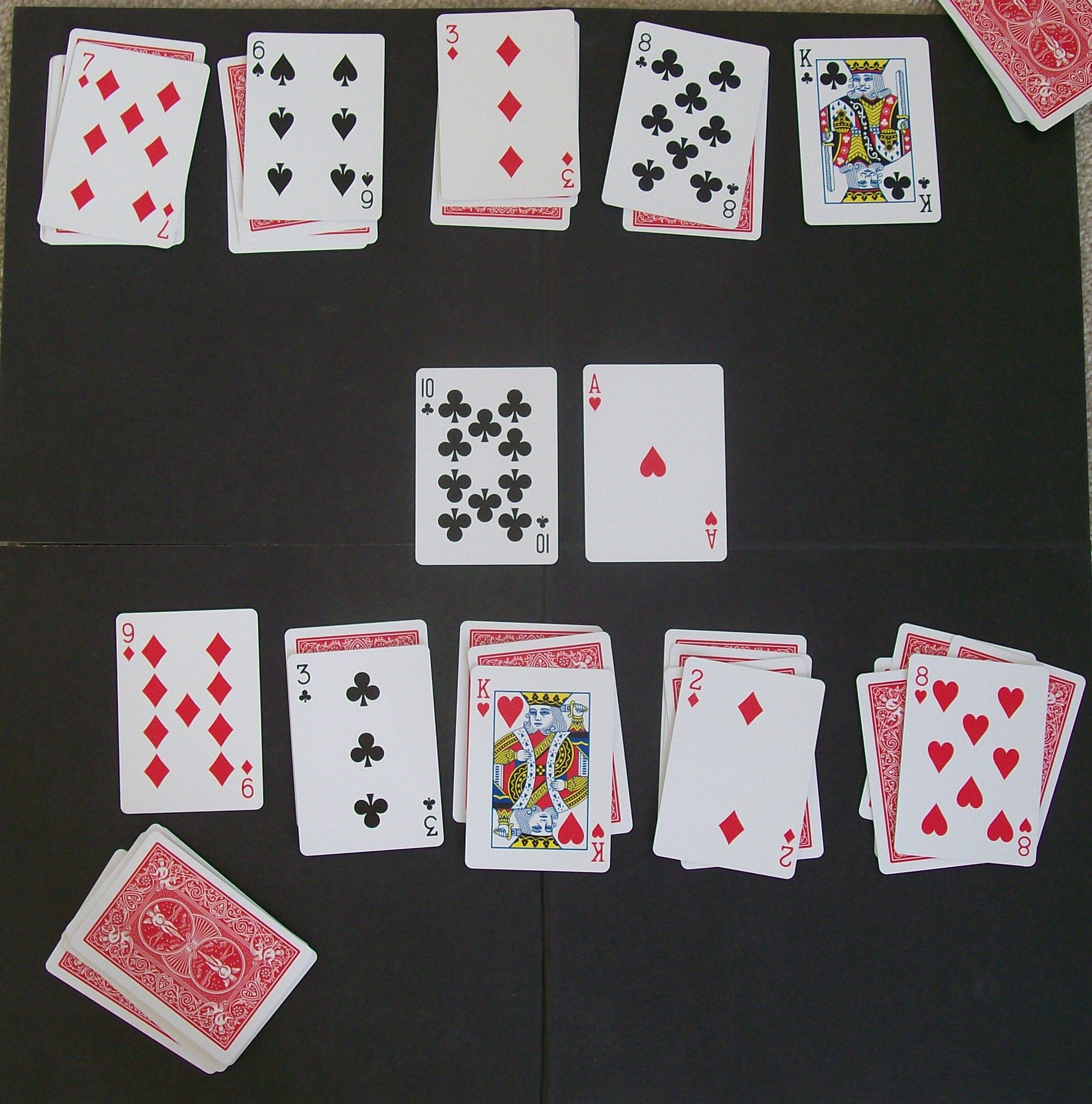 Spit The Card Game My Sister And I Would Play This For Hours