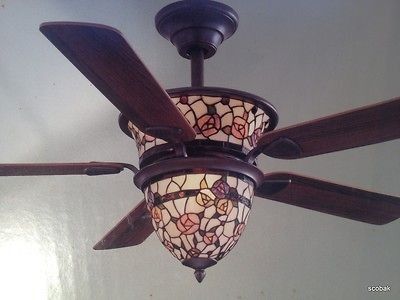 Visit For Great Deals On A Huge Selection Hampton Bay Tiffany Ceiling Fan.