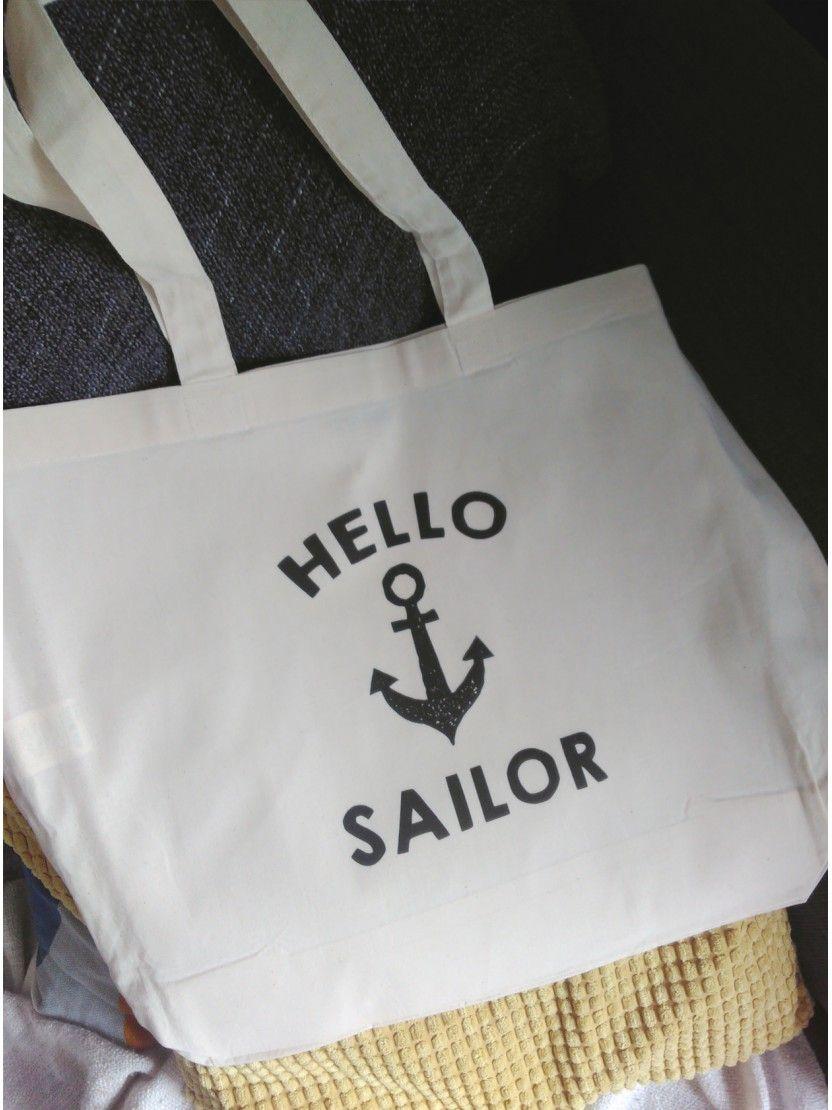 Hello Sailor! Our most popular bridesmaid tote.. ahoy ;) #hellosailor #bridesmaids #ahoy #totebags