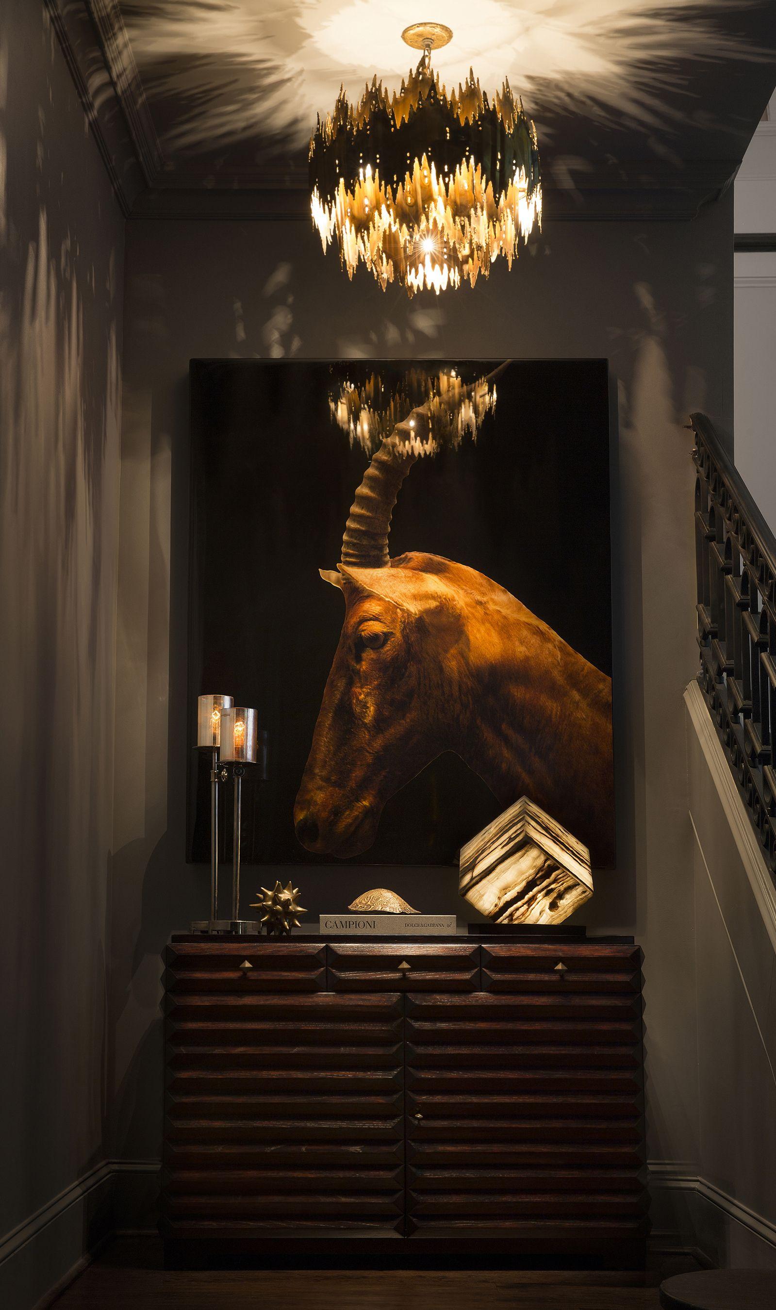 designer crush atlanta's michael habachy Dark interiors