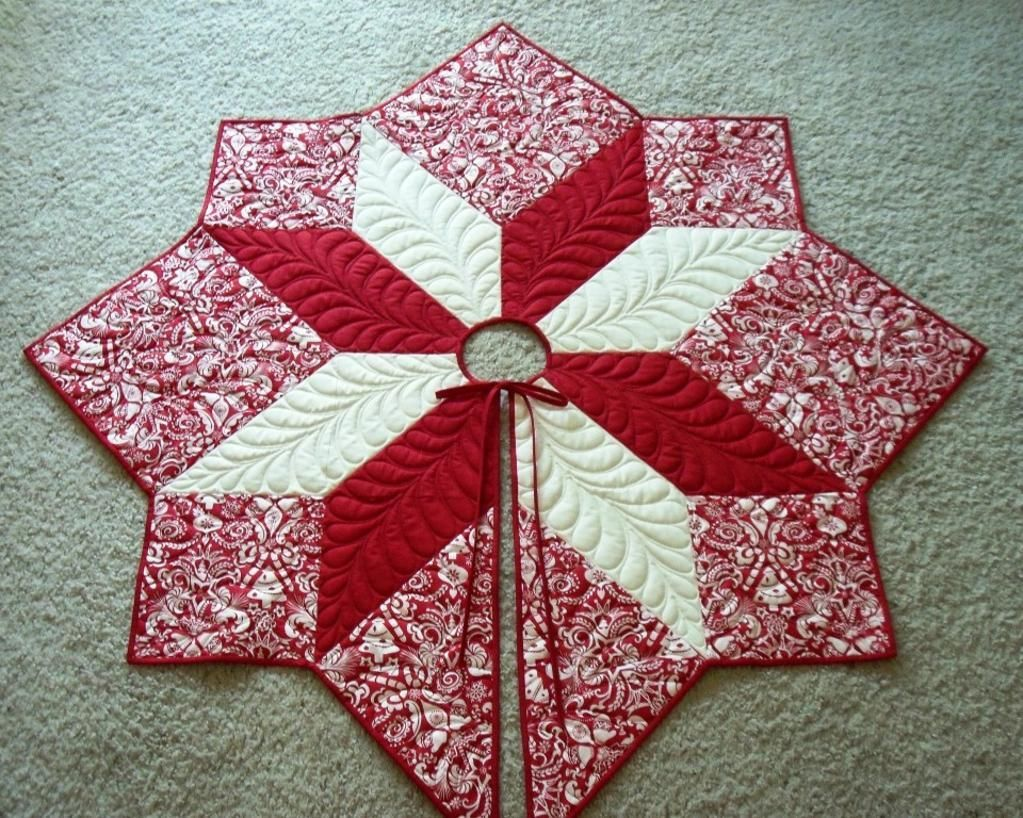 find your next project in craftsys pattern marketplace featuring - Christmas Tree Skirts Patterns