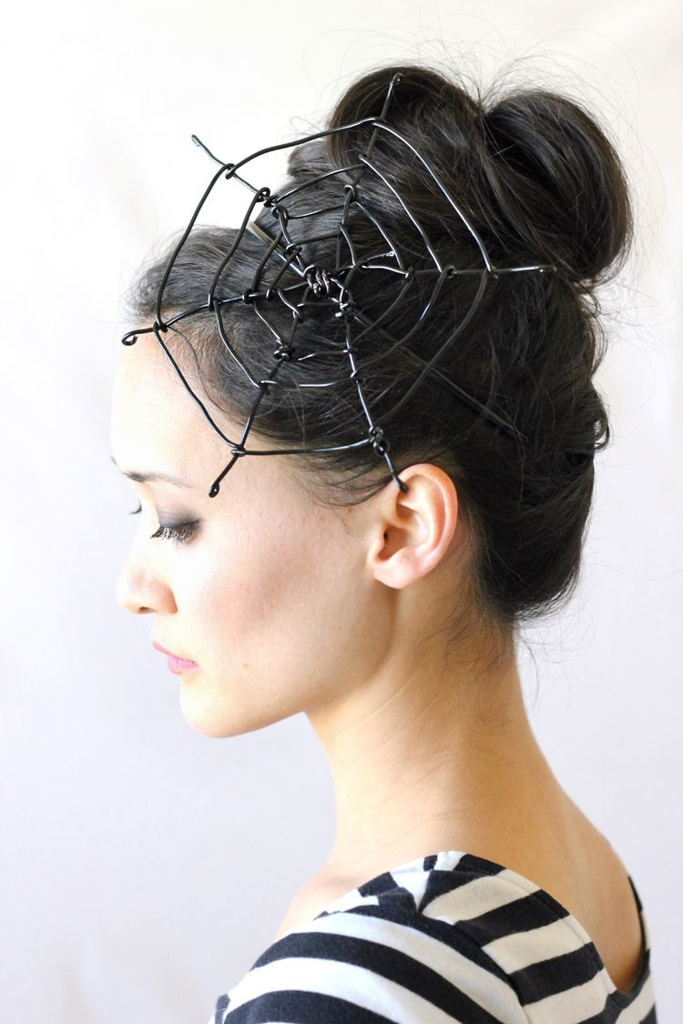 Spiderweb Fascinator Tutorial