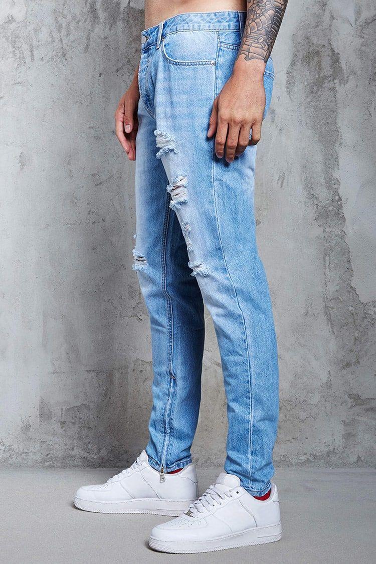 00d5acb5e26 Skinny Jeans - Hombre - Pantalones + Bermudas - Jeans - 2000113237 - Forever  21 EU Español