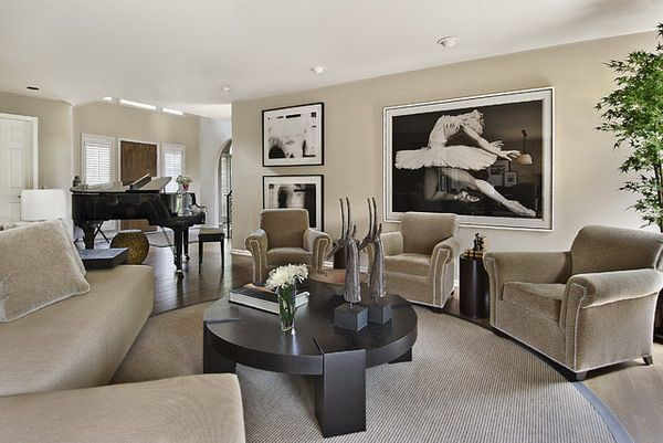 photos of neutral color living rooms Google Search Family Room